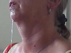 aunty-cum-cum swallow-cumshots