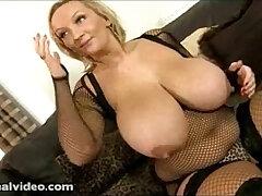 big tits-black-black cock-blonde