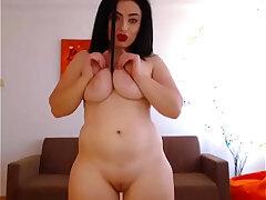 big tits-chubby-girl-masturbation