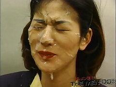 20 years old-bukkake-japaneese-shower