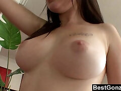 busty girls-couch-girl-licking