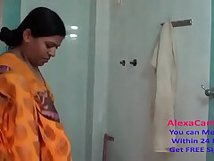 aunty-desi-shower-striptease