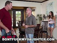 busty girls-daddy-daughter-fuck