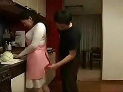 asian-japaneese-kitchen-milf