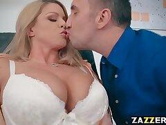 ass-ass worship-big tits-blonde