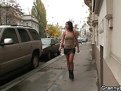 mature-milf-old and young-older woman